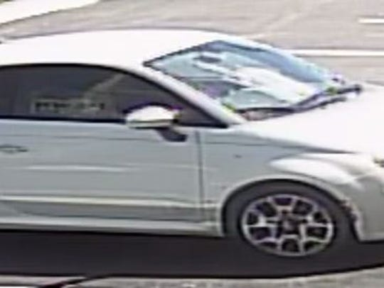 This is a stolen 2012 Fiat taken from a Lee County
