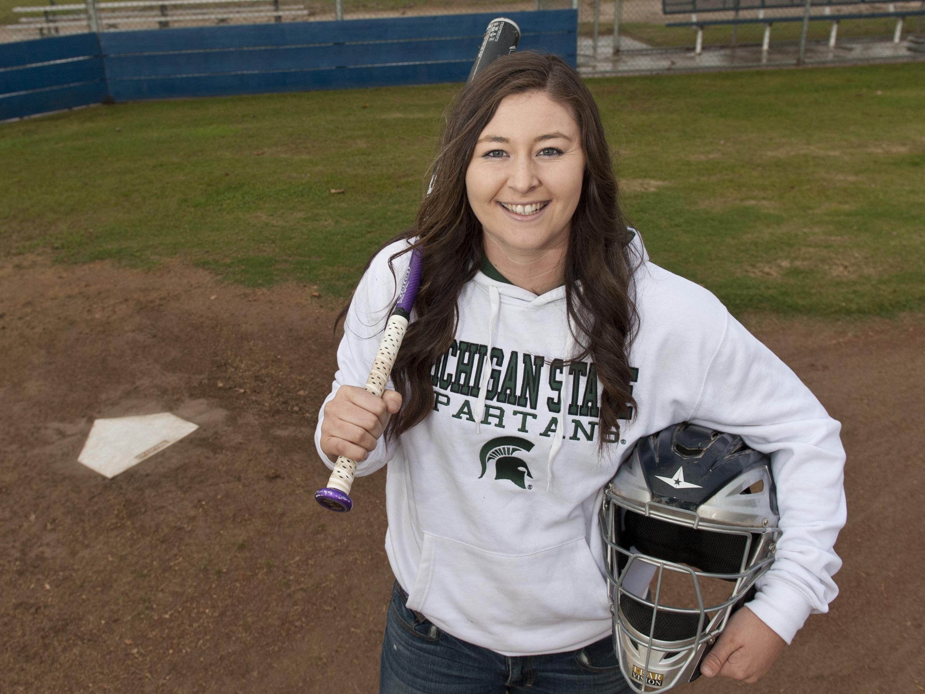 Tulare Western senior Kelcey Carrasco plans to sign a letter of intent today to attend Michigan State on a softball scholarship.