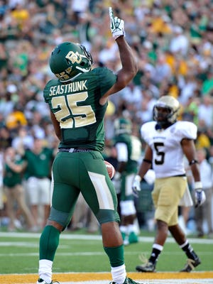 Baylor running back Lache Seastrunk rushed for 261 yards and 5 TDs in the Bears' first two games.