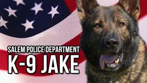 Salem police K-9 Jake