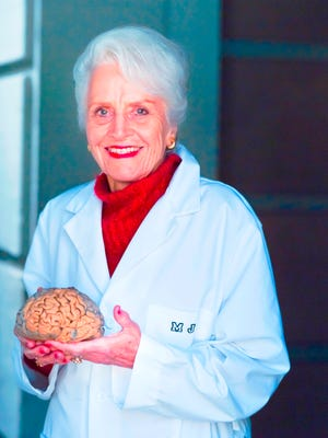 Marian Diamond, Ph.D., known for her studies on Einstein's brain.
