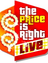 'The Price is Right Live!' logo.