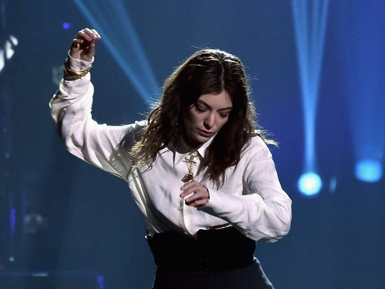 Lorde, at the BMO Harris Bradley Center Thursday, is