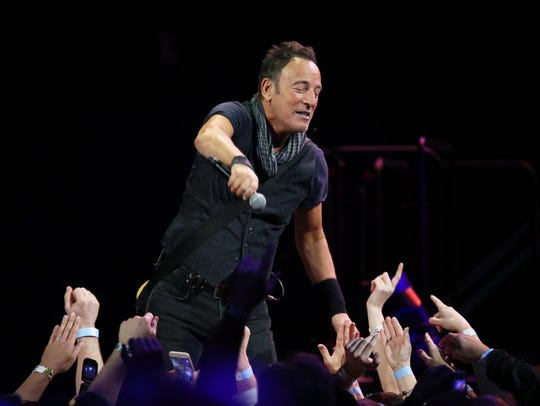 Bruce Springsteen cemented his standing as the most-frequent