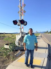 Senator Howie Morales was instrumental in helping secure the funding for the railroad crossing on Diaz Avenue in Hurley.