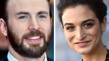 Real-life couple Chris Evans and Jenny Slate just became co-stars