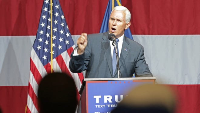 Gov. Mike Pence on Thursday, July 14, 2016, plans to unveil new policy proposals as he awaits word on whether he will be selected as Donald Trump's running mate.