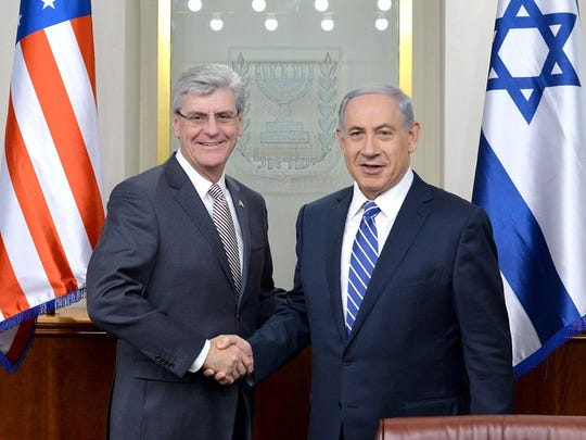 Governor Bryant Israel Photo.jpg