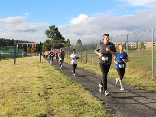 Walk-run events are popular in Ruidoso and March 16 will offer another chance to enjoy the mountains and exercise.
