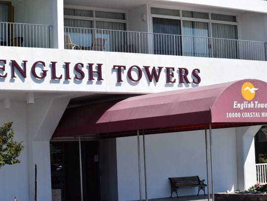 English Towers on 100th Street and Coastal Highway