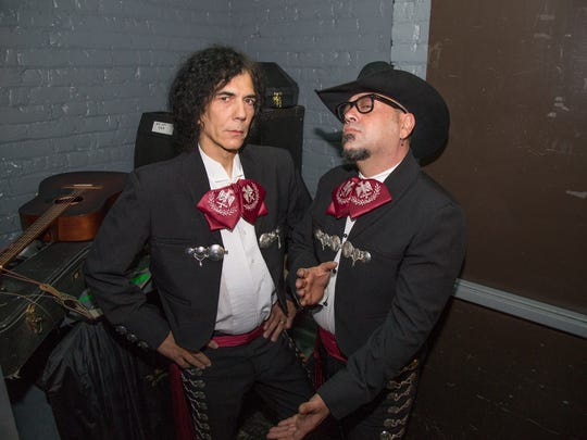 Bobby East and James Wailin of the Reefermen as Mariachi