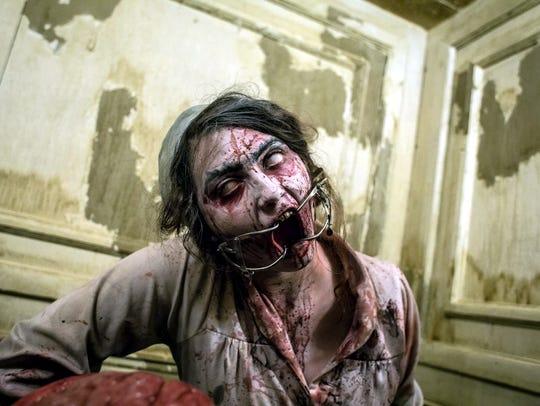 Zombie at Brighton Asylum