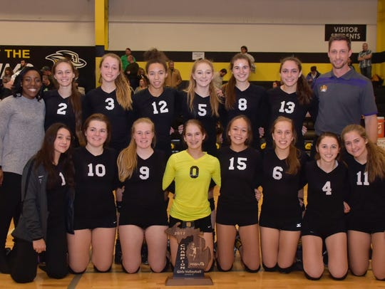 Plymouth Christian Academy won a Class D regional championship