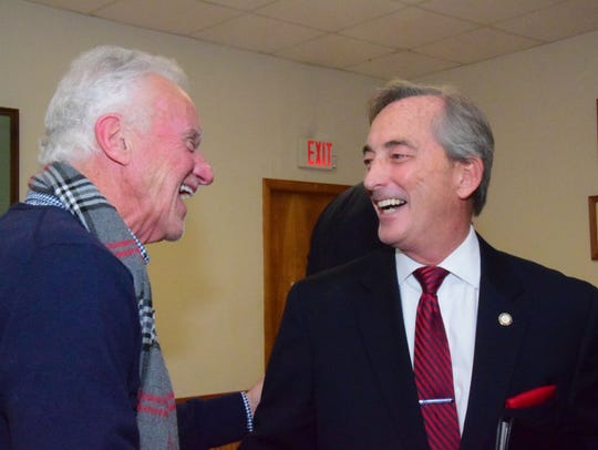 Ed Brantley and Bob Thomas, at-large commissioners,