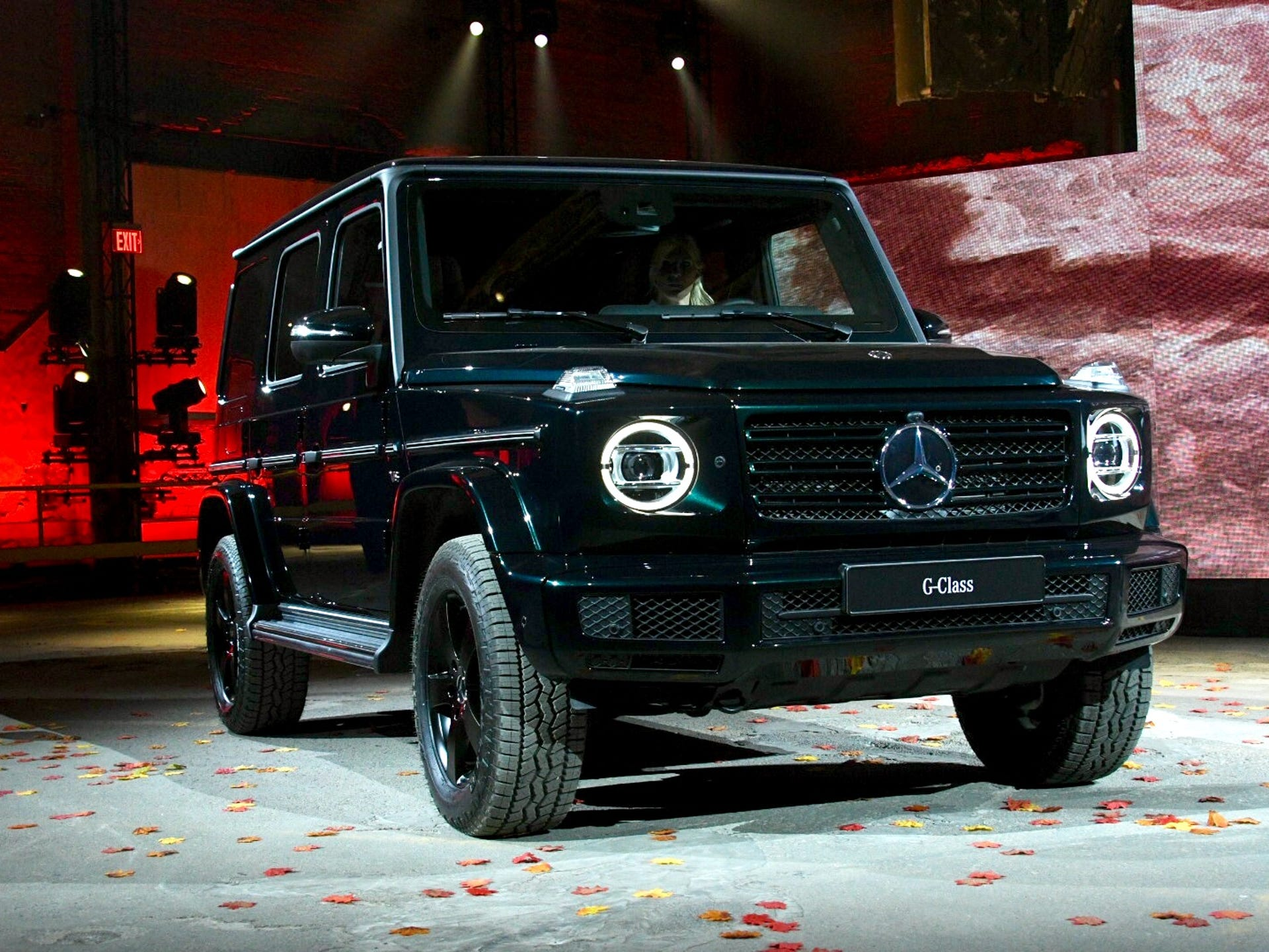 The 2019 Mercedes Benz G Cl Is Introduced At