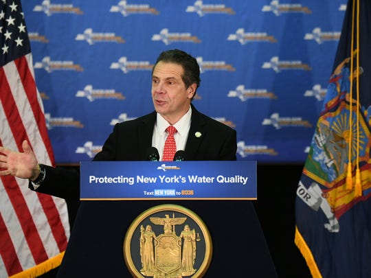 Gov. Andrew Cuomo has set renewable-energy goals for New York state.