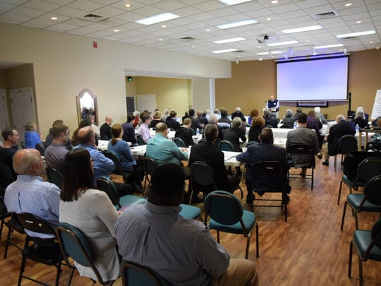 The Alabama Democratic Reform Caucus holds a meeting
