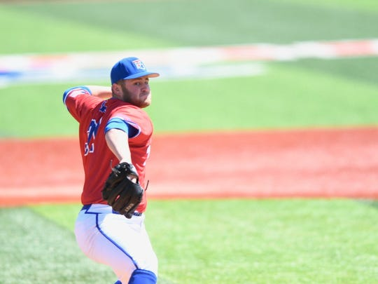 Tech's Logan Bailey pitched 6.1 innings, allowing just two runs on eight hits, while striking out four and did not walk a batter.