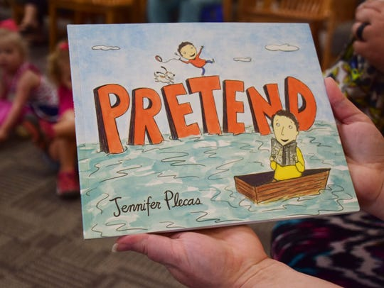 """""""Pretend"""" by Jennifer Plecas is among the most popular"""