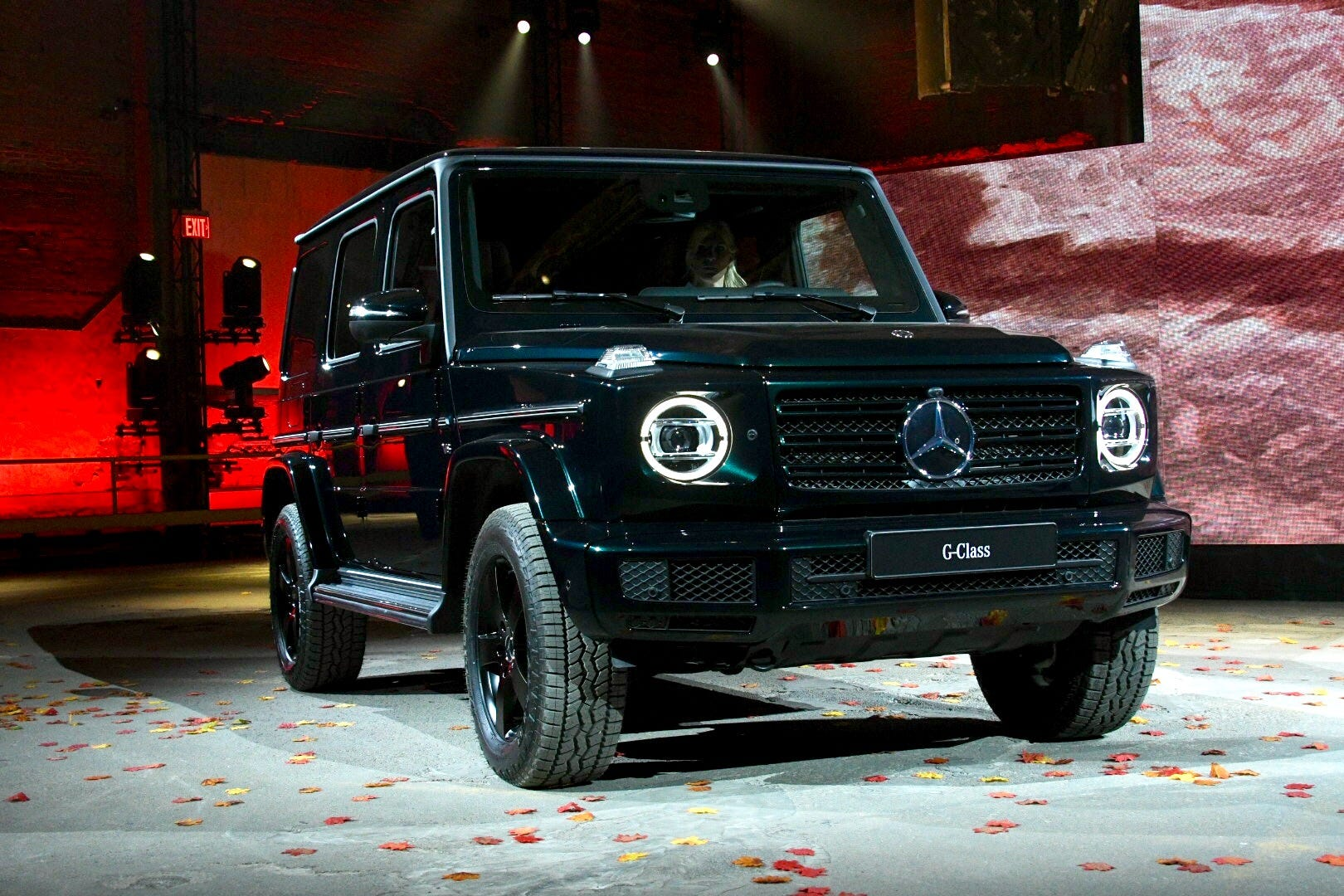 The 2019 Mercedes Benz G Class Is Introduced At The