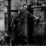 """Gene Kelly in a scene from the 1952 motion picture """"Singin' in the Rain."""""""