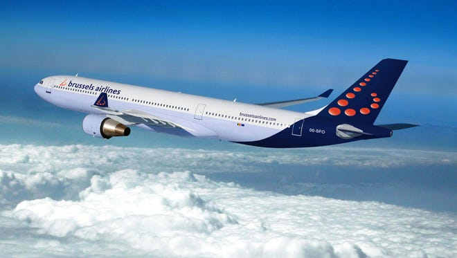A Brussels Airlines Airbus A330.