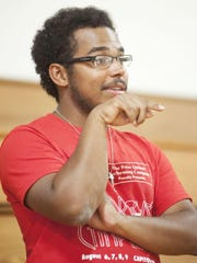 Phillip Jindra, 23, directs the Peter Quince Performing