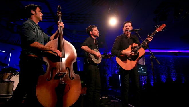 The Avett Brothers perform at Music Is Universal presented by Marriott Rewards and Universal Music Group, during SXSW at the JW Marriott Austin on March 16, 2016 in Austin, Texas.