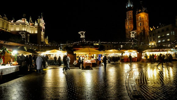 Festive and with high quality goods, the Krakow Christmas
