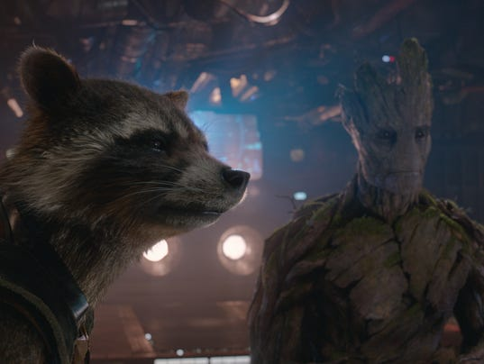 Summer's out-of-this-world duo: Rocket and Groot Bradley Cooper Movies