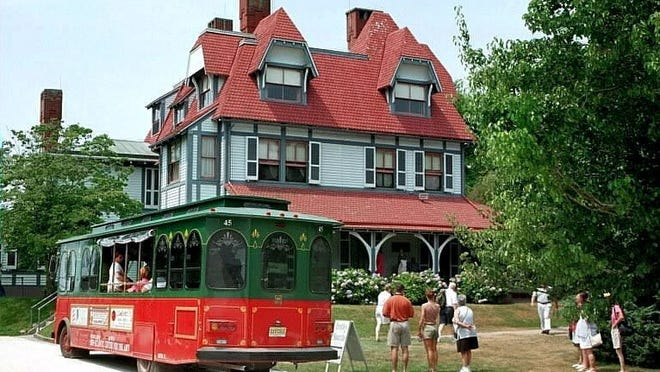 Hope aboard the Cape May trolley to check out Exit Zero events.