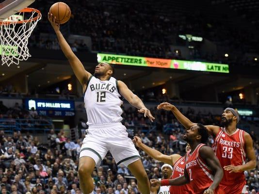NBA: Houston Rockets at Milwaukee Bucks