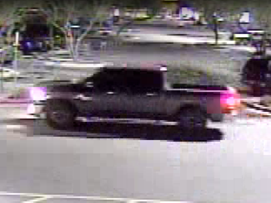Surprise police officers believe the suspects are driving a gray Dodge pickup truck.