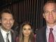 Nina Dobrev takes a photo with Tony Romo and Peyton