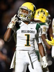Hillsboro senior Gyasi Mattison is among the top returning high school football athletes for 2018