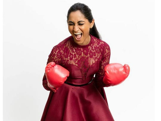 "Edison's Moushumi proved victorious during the Battle Rounds on ""The Voice"" Monday and heads into the Knockout Rounds next week."