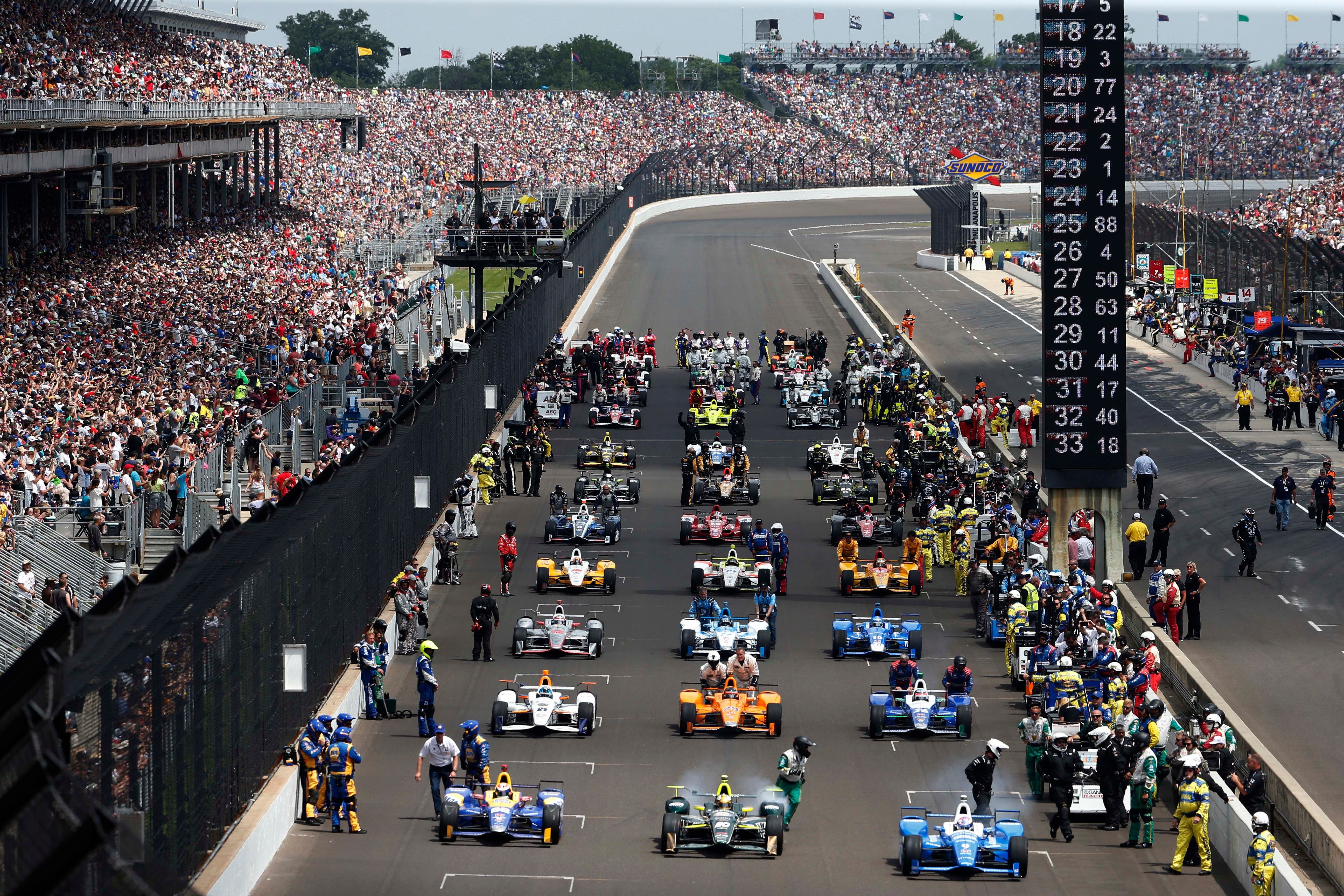 photograph about Printable Indy 500 Starting Grid named Indy 500 2018: Commence season, lineup, Television channel, much more for