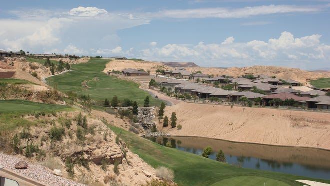 The Mesquite Men's Golf Association played at Falcon Ridge last week.