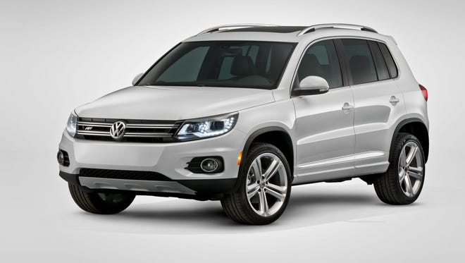 The side air bag in a Volkswagen Tiguan is at the center of a new probe