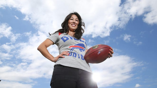 Fairport native Kim Pegula is co-owner of the Buffalo Bills and plays an active role in many facets of running the team.