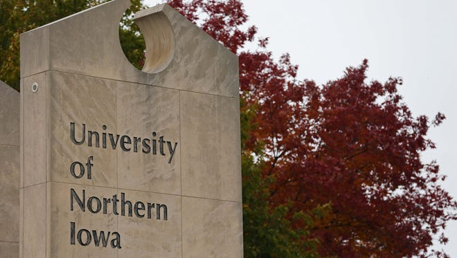 Applicants are seeking to succeed President William Ruud, who left the University of Northern Iowa this summer to become president of a private college in Ohio.