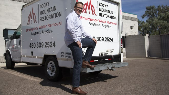 C.J. Smith, owner of Rocky Mountain Restoration, founded the restoration company with friend Adam Webster in 2009.