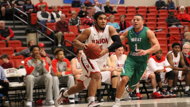 Union senior Roy Bullock is averaging 10 points per game for the Bulldogs, who open the Gulf South Conference tournament Tuesday.