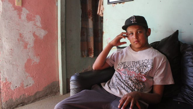 12-year-old José Antonio Ramírez Serrano underwent surgery to remove a massive tumor on his left shoulder.