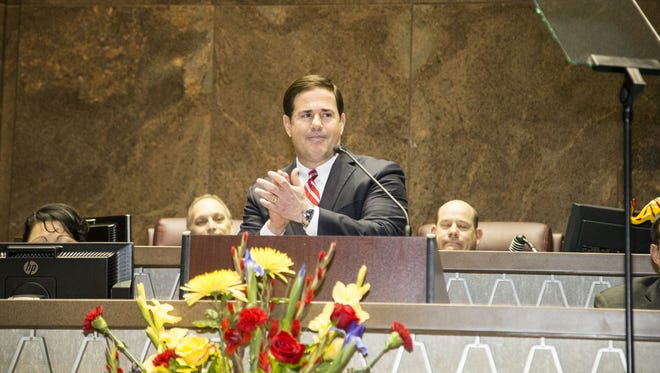 Gov. Doug Ducey has signed into law a bill that allows state leaders to withhold state-shared revenue from cities if the attorney general determines a city or county has passed a regulation that conflicts with state law.