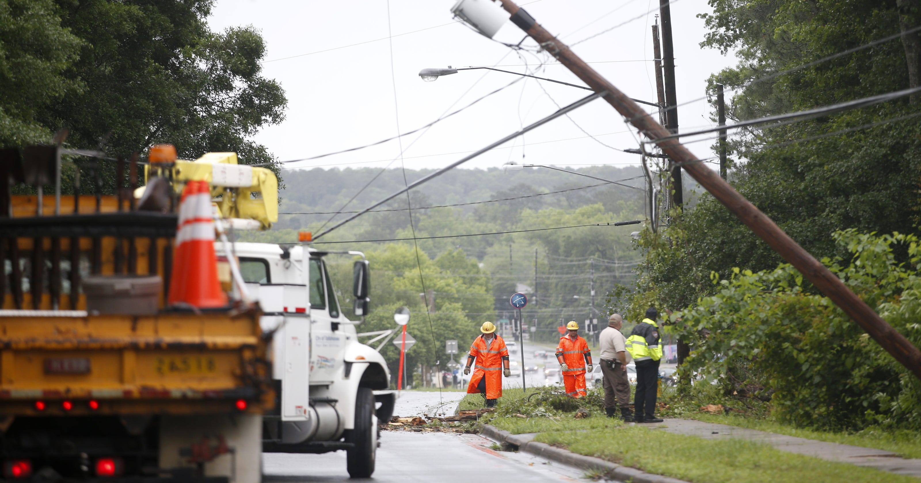 Power out for almost 80k and climbing in Leon County