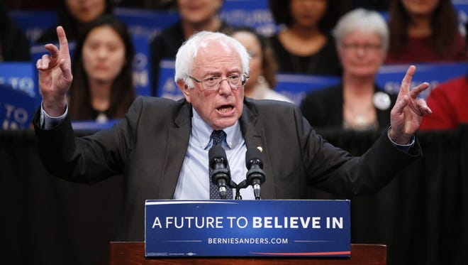 Democratic presidential candidate Bernie Sanders' campaign this week set up a field office in downtown Lafayette.