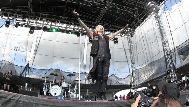 Sixx:A.M. performs at the 2016 Fort Rock in south Fort Myers