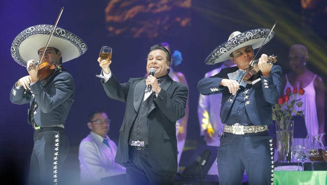 Legendary Mexican singer-songwriter returns to the Don Haskins Center on Sunday for his third sold-out concert at the venue in less-than two years.