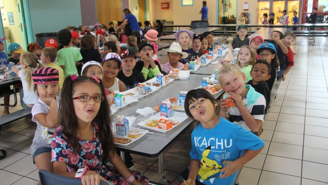 Early Childhood Education Center hosted hat day on Sept. 16 in support of the United Way of Carlsbad and South Eddy County.